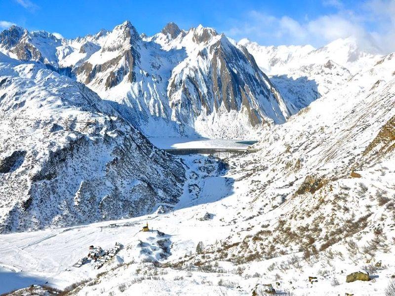 Ciaspolata Lago Castel, nell'alta valle Formazza