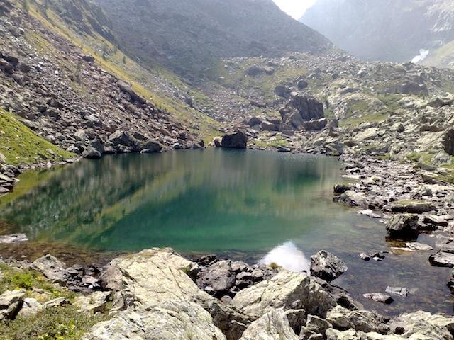Escursione laghi Verdi e lago Paschiet da Balme