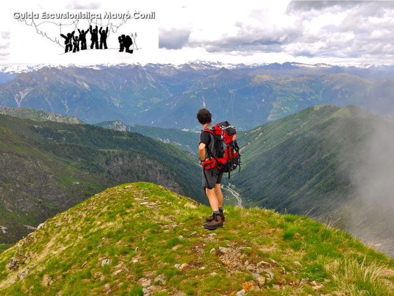 Escursione cima della Laurasca e bivacco di Scaredi