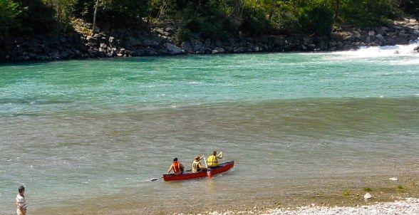 Discesa in canoa sul fiume Toce e oasi naturalistica del Bosco Tenso