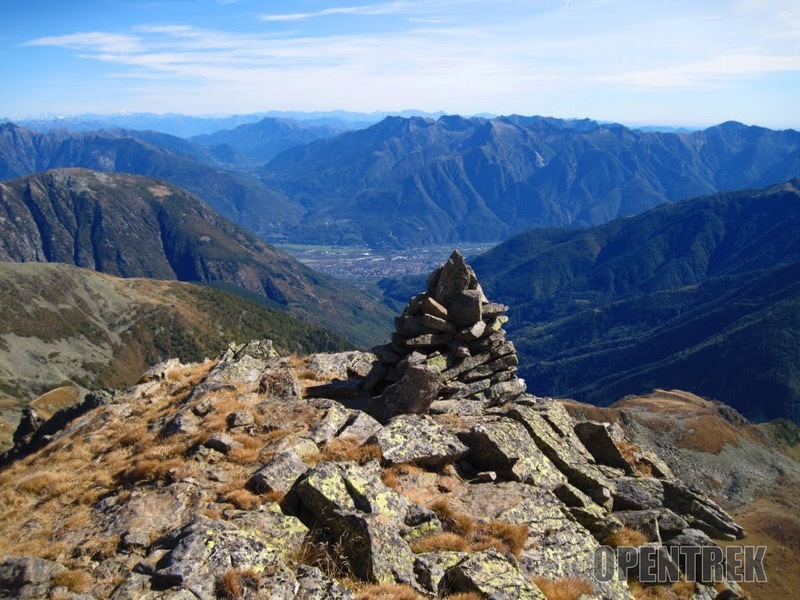 Escursione cima d'Azoglio dalla Gomba, val Bognanco