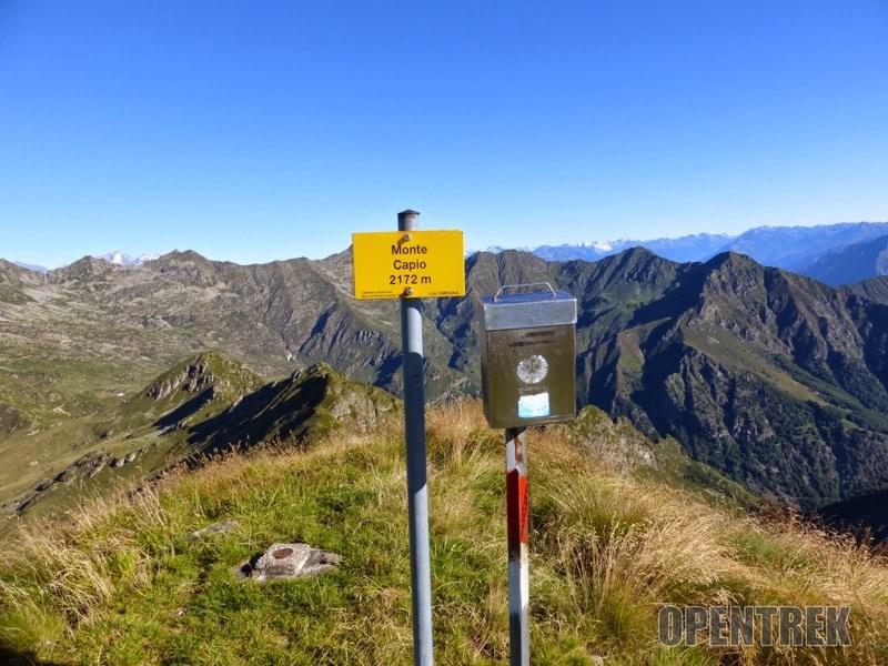 Escursione monte Capio bocchetta di Campello, valle Strona