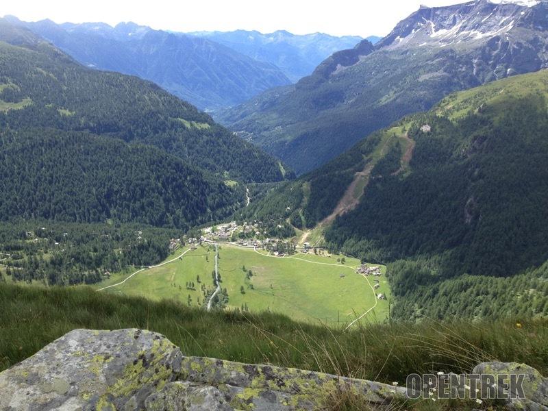 Escursione al monte Croce in alpe Devero dai piani della Rossa