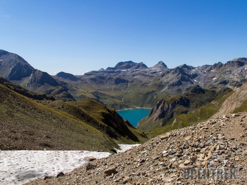 Escursione passo del Nefelgiù val Formazza e lago Sruer