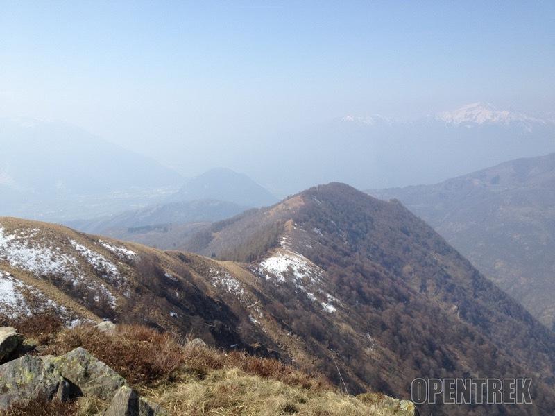 Escursione pizzo Pernice e monte Todano da Miazzina
