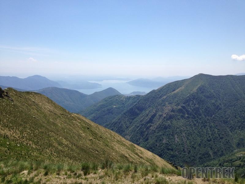 Escursione monte Zeda da Archia, lago Maggiore