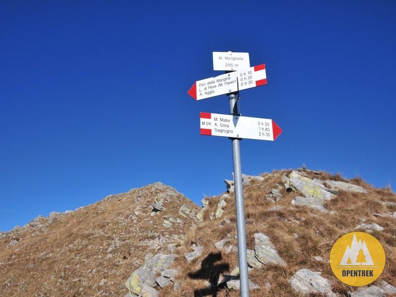 Escursione monte Mater e Margineta da Sagrono
