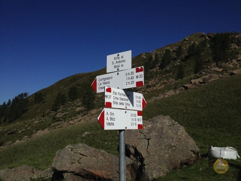 Escursione cima Sassone e pizzo Formalone da La Vasca