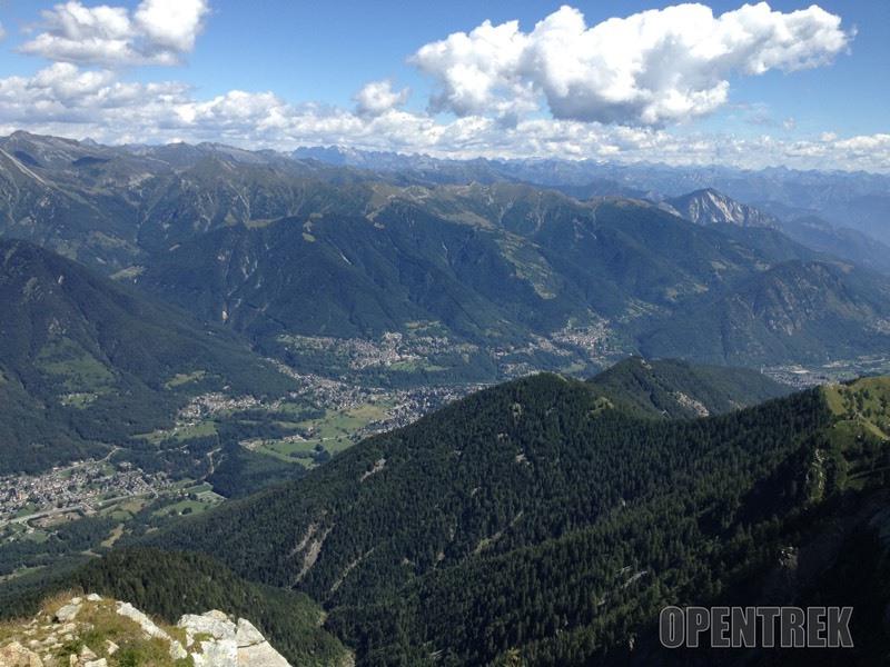 Escursione pizzo Ragno da Orcesco e alpe Campra